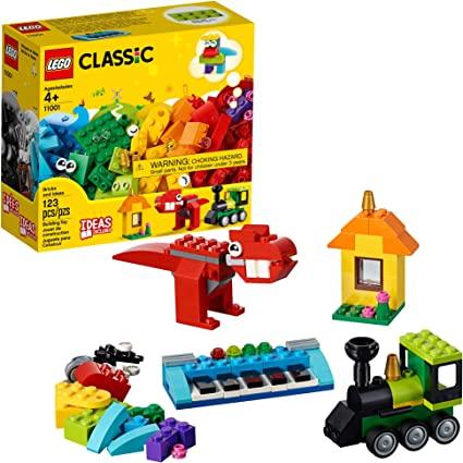 Lego Classic Peças e Ideias - 123 Peças