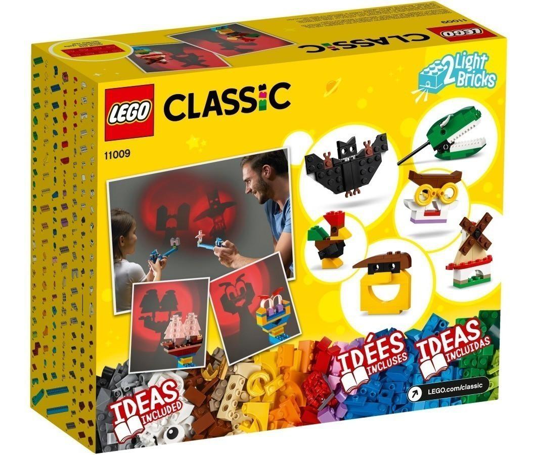 LEGO Classic - Peças e Luzes