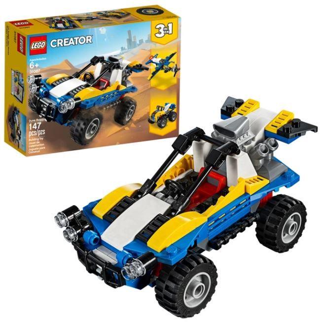 Lego Creator - Modelo 3 Em 1: Passeio Nas Dunas