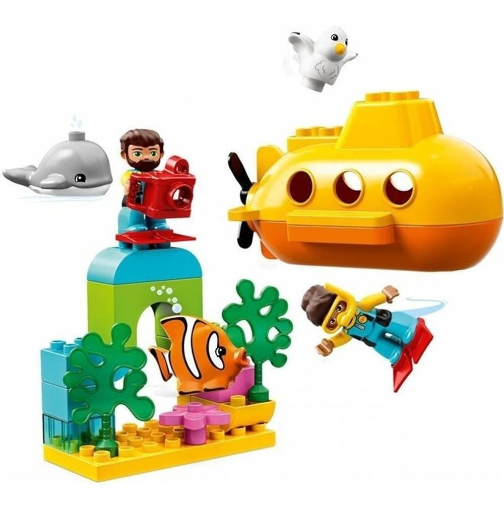 Lego Duplo - Aventura de Submarino