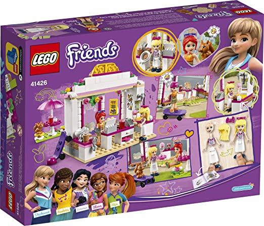 Lego Friends Café Do Parque Heartlake City