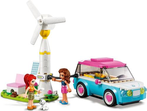 Lego Friends - Carro Elétrico da Olivia