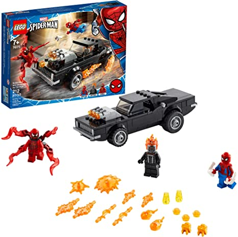LEGO Marvel - Homem Aranha e Ghost Rider vs. Carnag