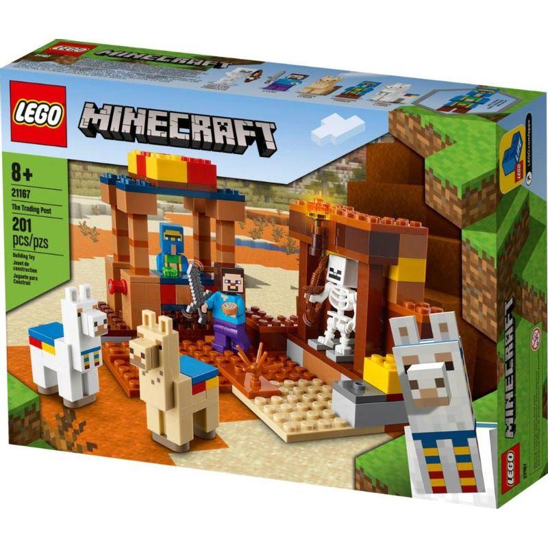 LEGO Minecraft - O Posto Comercial