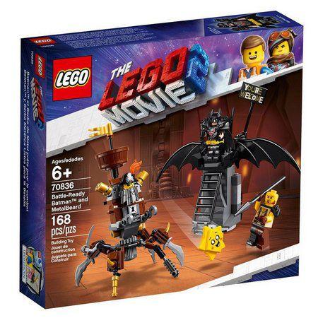 Lego Movie 2 Batman E Barba De Ferro