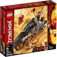 Lego Ninjago A Mota Off-road De Cole