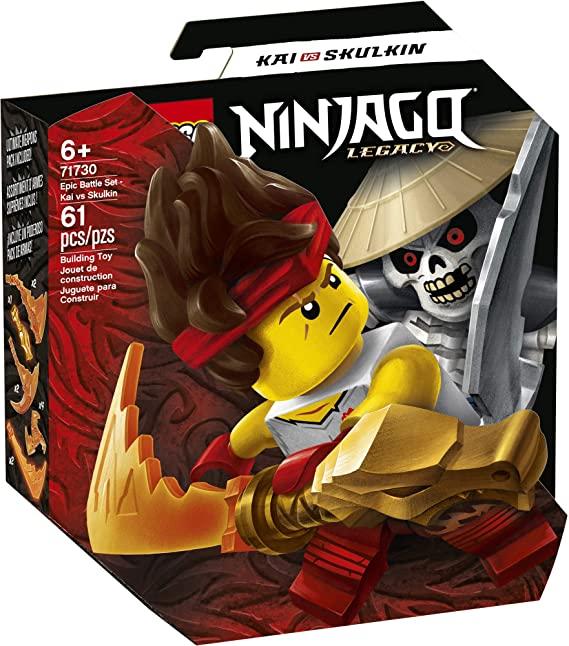 LEGO Ninjago Legacy Combate Épico Kai vs Skulkin