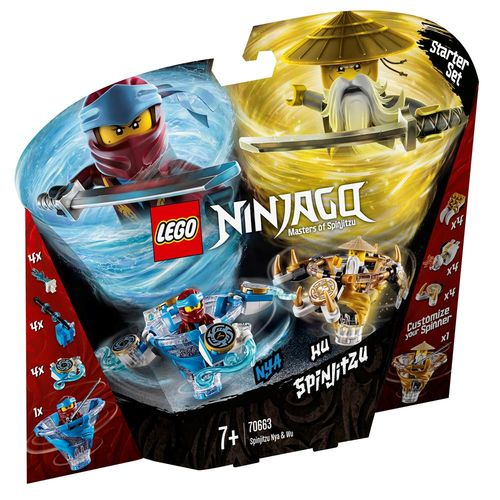 Lego Ninjago - Spinjitzu Nya e Wu