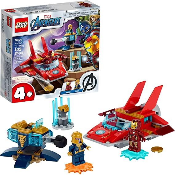 Lego Super Heroes Marvel - Vingadores: Homem de Ferro contra Thanos