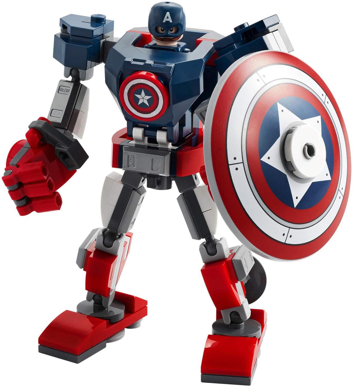 Lego Super Heróis Marvel - Armadura Robô do Capitão América
