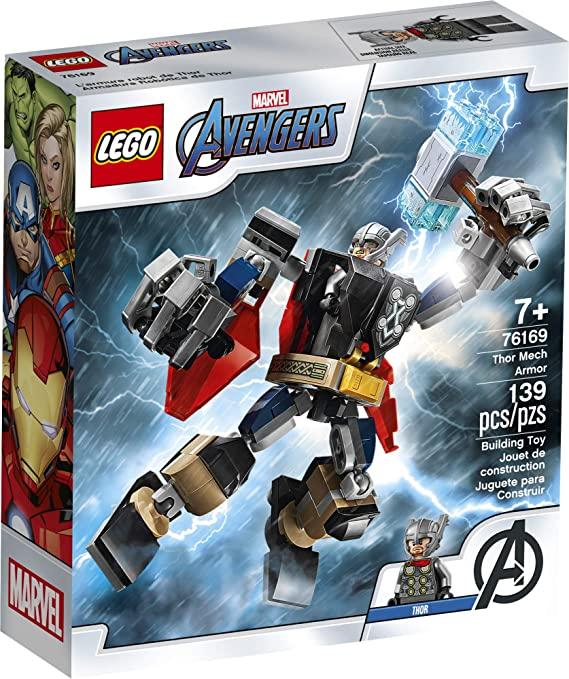 Lego Super heróis Marvel ARMADURA ROBO DO THOR