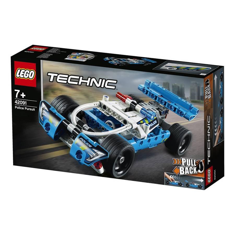 LEGO Technic - Perseguição Policial