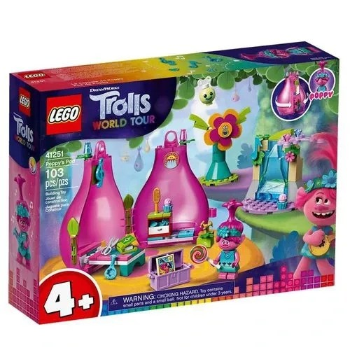 LEGO Trolls Word Tour - O Pod de Poppy