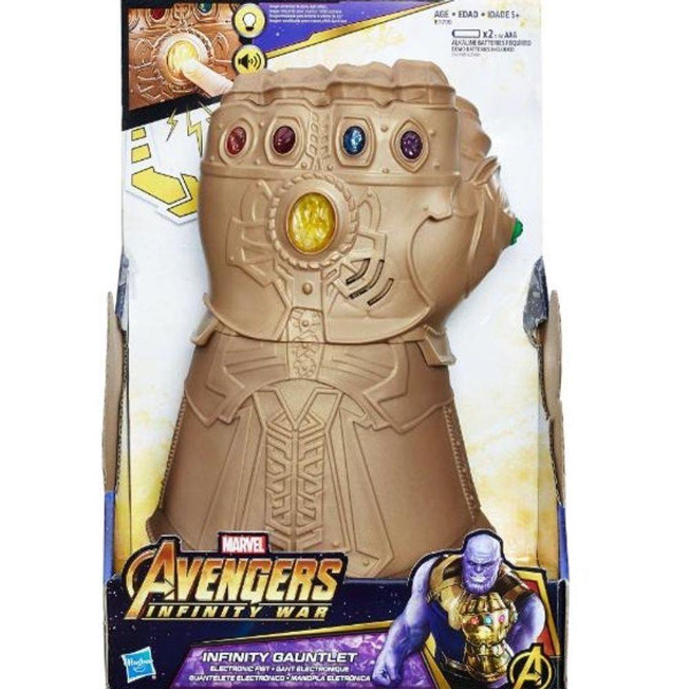 Manopla Eletrônica Avengers do Infinito Thanos