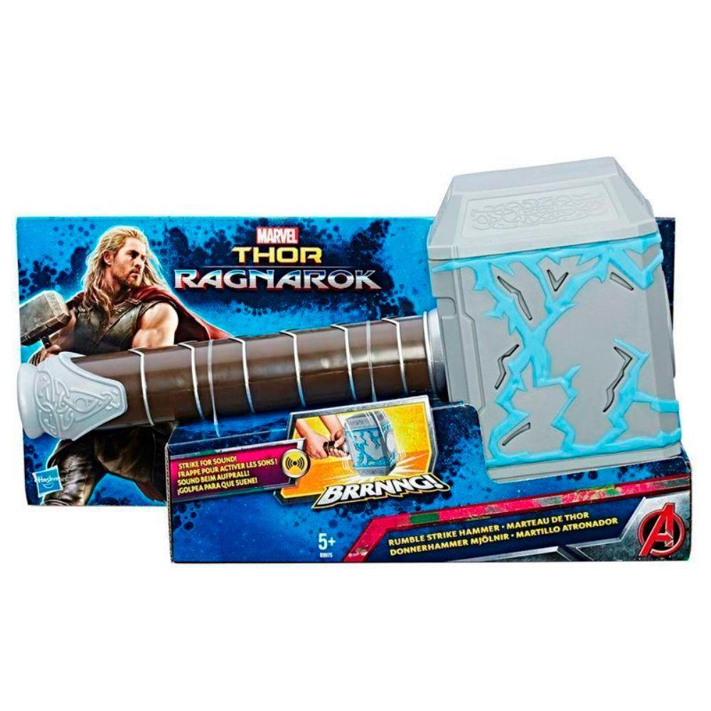 Martelo Thor Trovao Ragnarok com Som