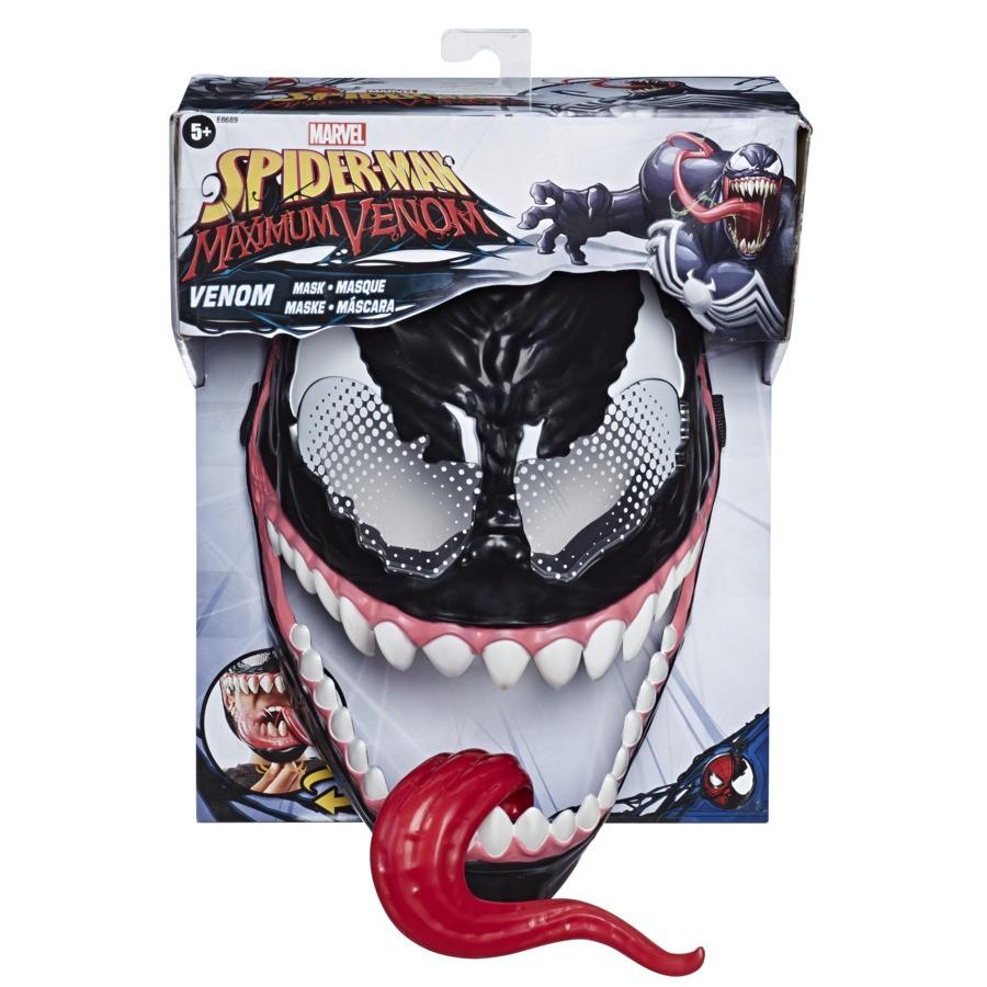 Máscara Básica Disney Marvel - Spider-Man Maximum Venom - Hasbro