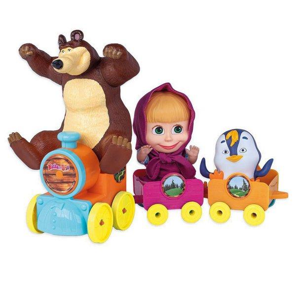 Masha e o Urso no Trenzinho