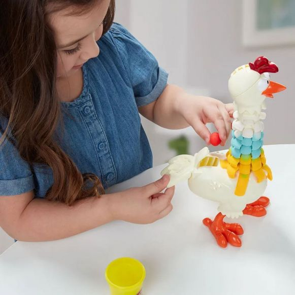 Massinha Play Doh Farm Galinha Penosa