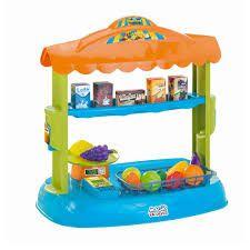 Mercadinho Mini Market Com Acessórios E Balança Magic Toys