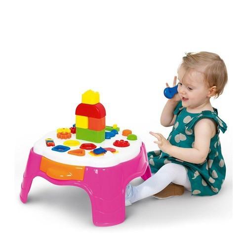 Mesa de Atividades Play Time Rosa Cotiplás