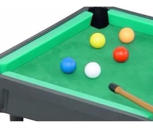 Mesa De Bilhar Snooker Infantil