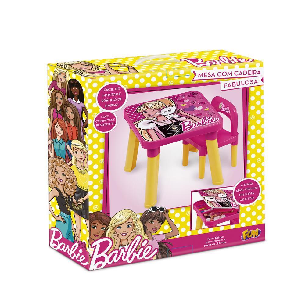Mesinha Com Cadeirinha Barbie