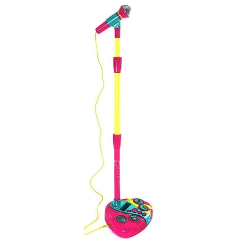 Microfone Karaoke Fabuloso Da Barbie