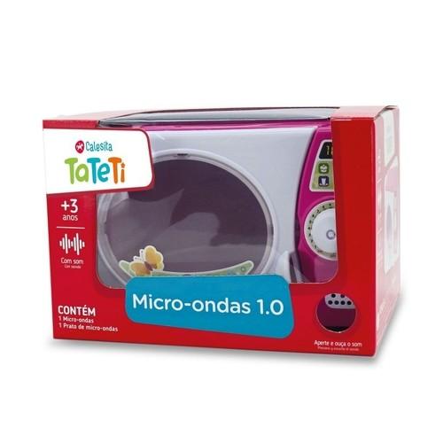 Microondas Infantil Tateti com Som 1.0