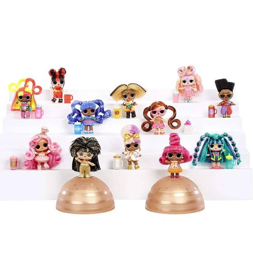 Mini Boneca e Acessórios LOL Surprise! - Hair Vibes - 15 Surpresas - Candide