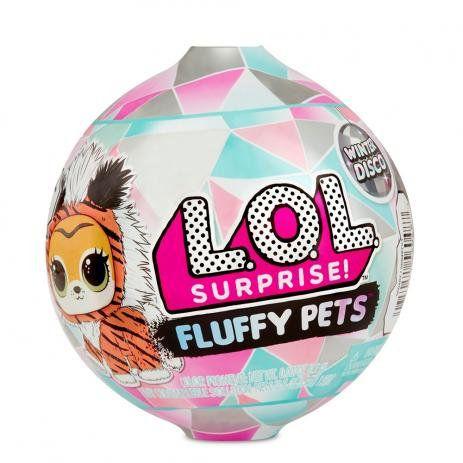Mini Boneca Surpresa - LOL Surprise! - Fluffy Pets