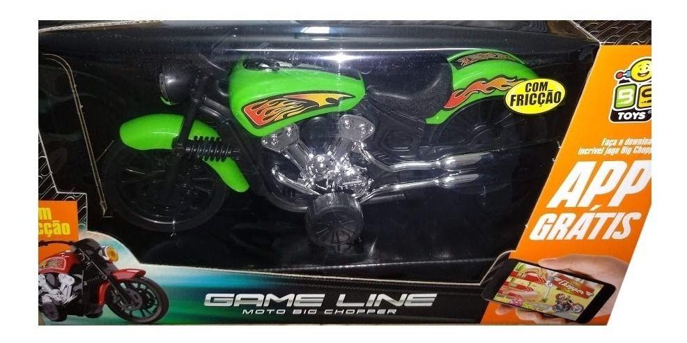 Moto Big Chopper com Fricção na Caixa