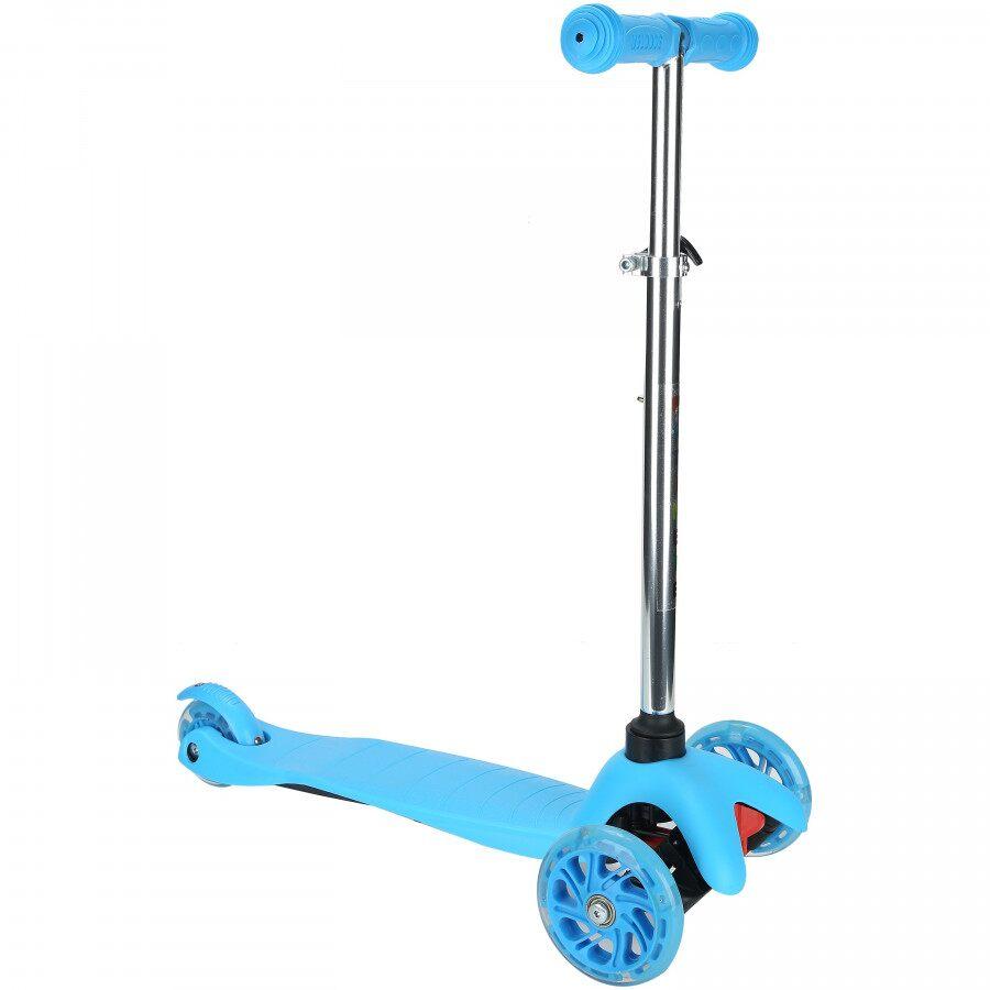 Patinete 3 Rodas Spin Roller com Luzes de Led