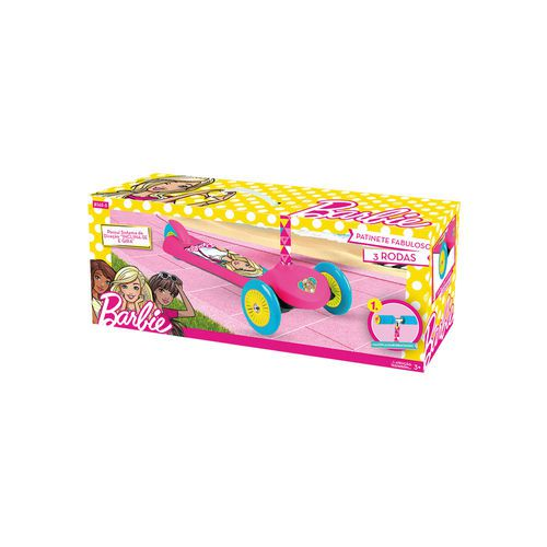 Patinete Barbie Fabuloso - 3 Rodas