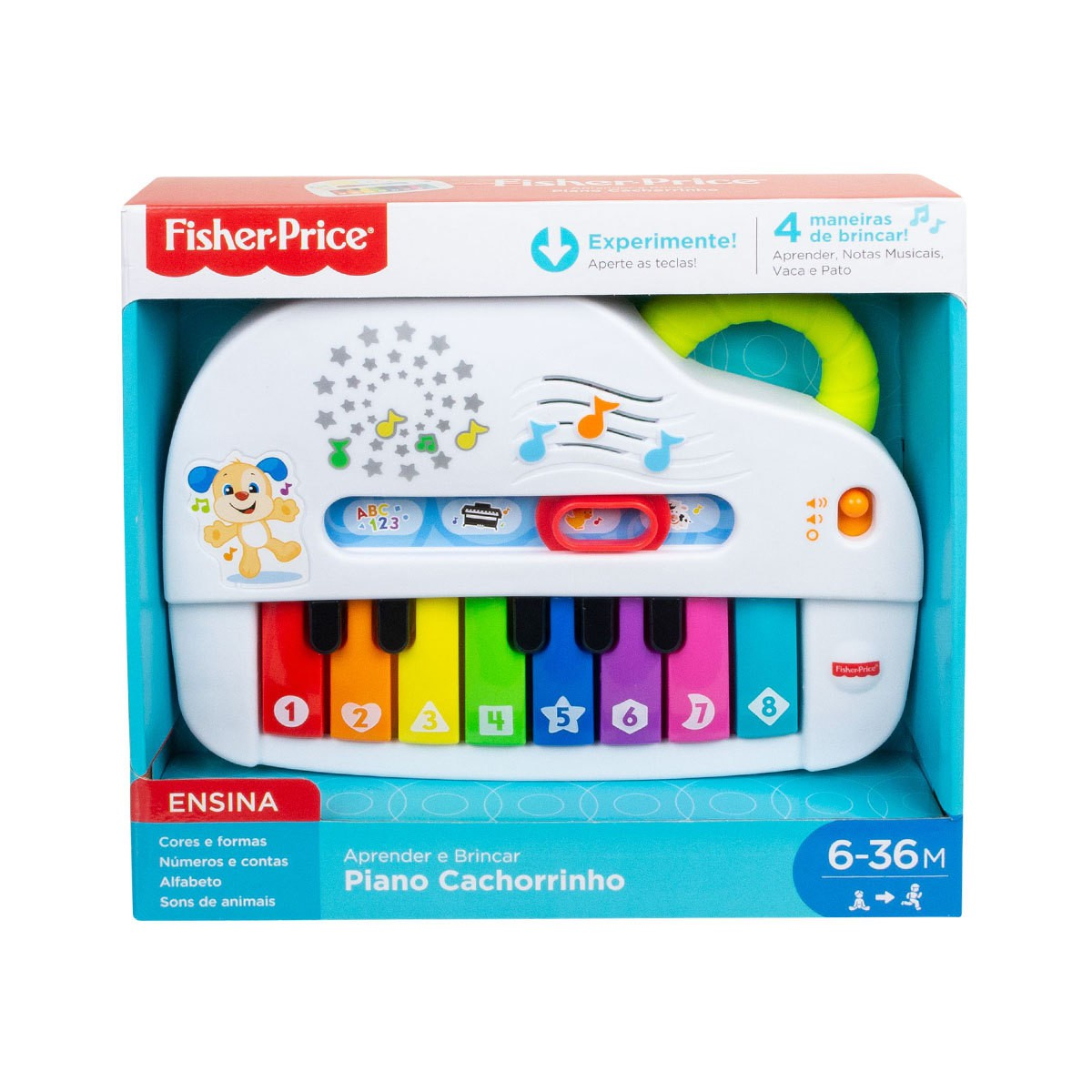 Piano do Cachorrinho Fisher-Price