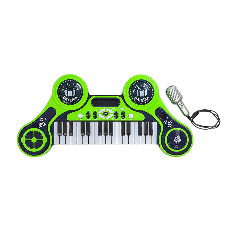 Piano e Teclado Eletrônico Infantil Unik Toys