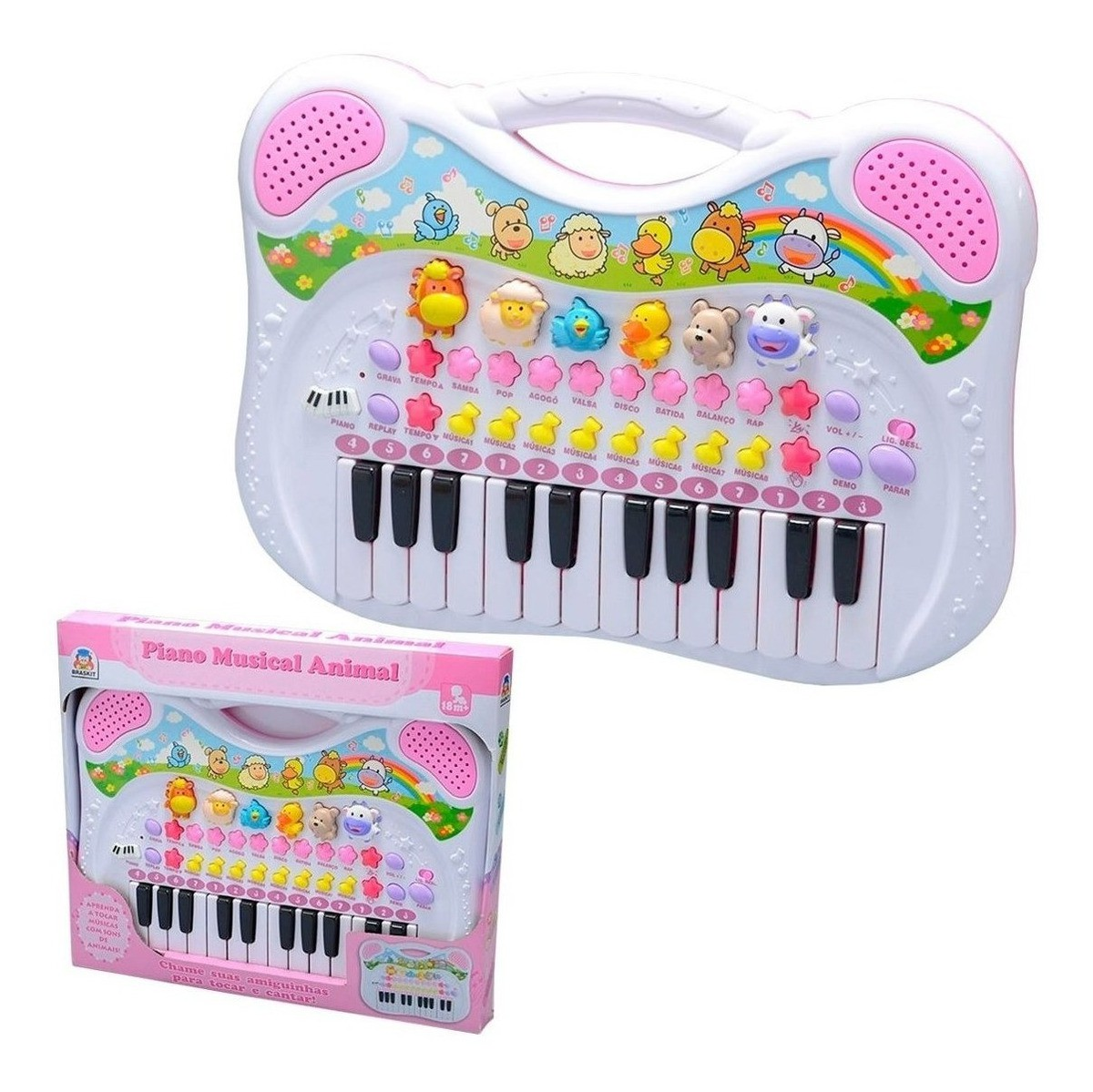 Piano Musical Animal