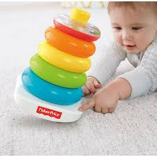 Pirâmide de Argolas Fisher Price