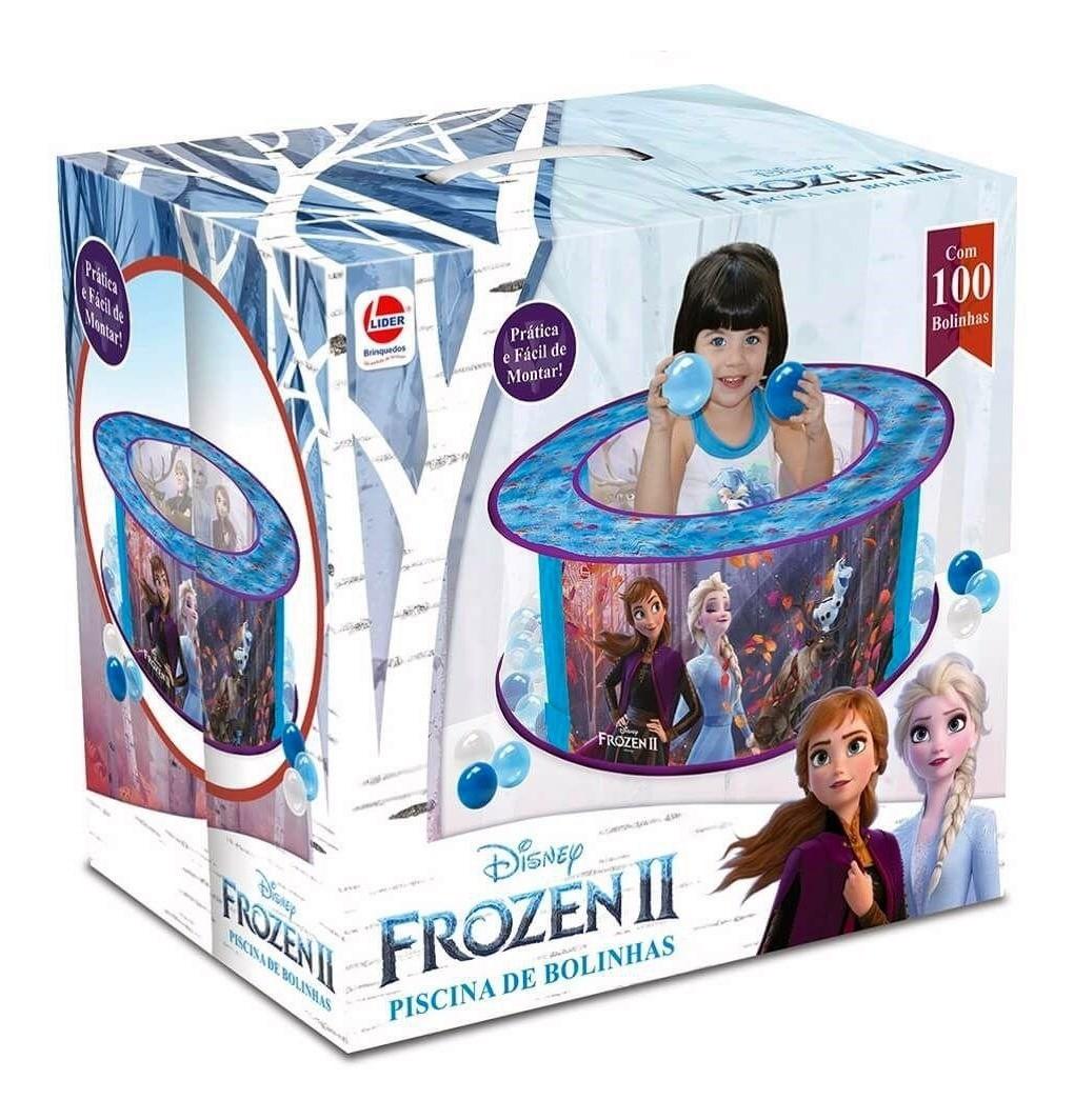 Piscina de Bolinhas Frozen 2