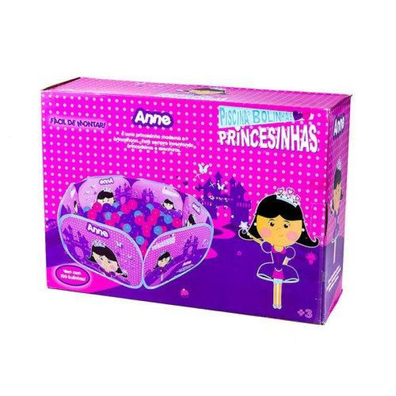 Piscina de Bolinhas Portátil - Princesinha Anne