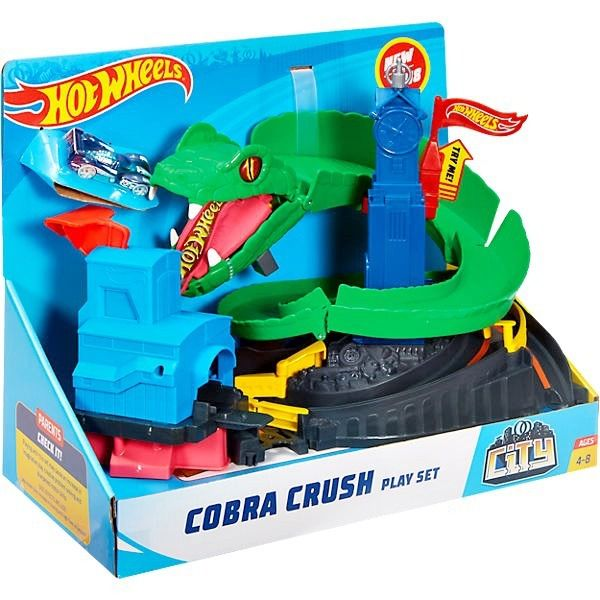 Pista Ataque da Cobra Hot Wheels