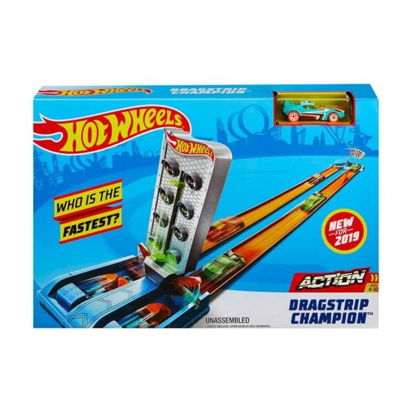 Pista e Veículo - Hot Wheels - Pista Campeonato