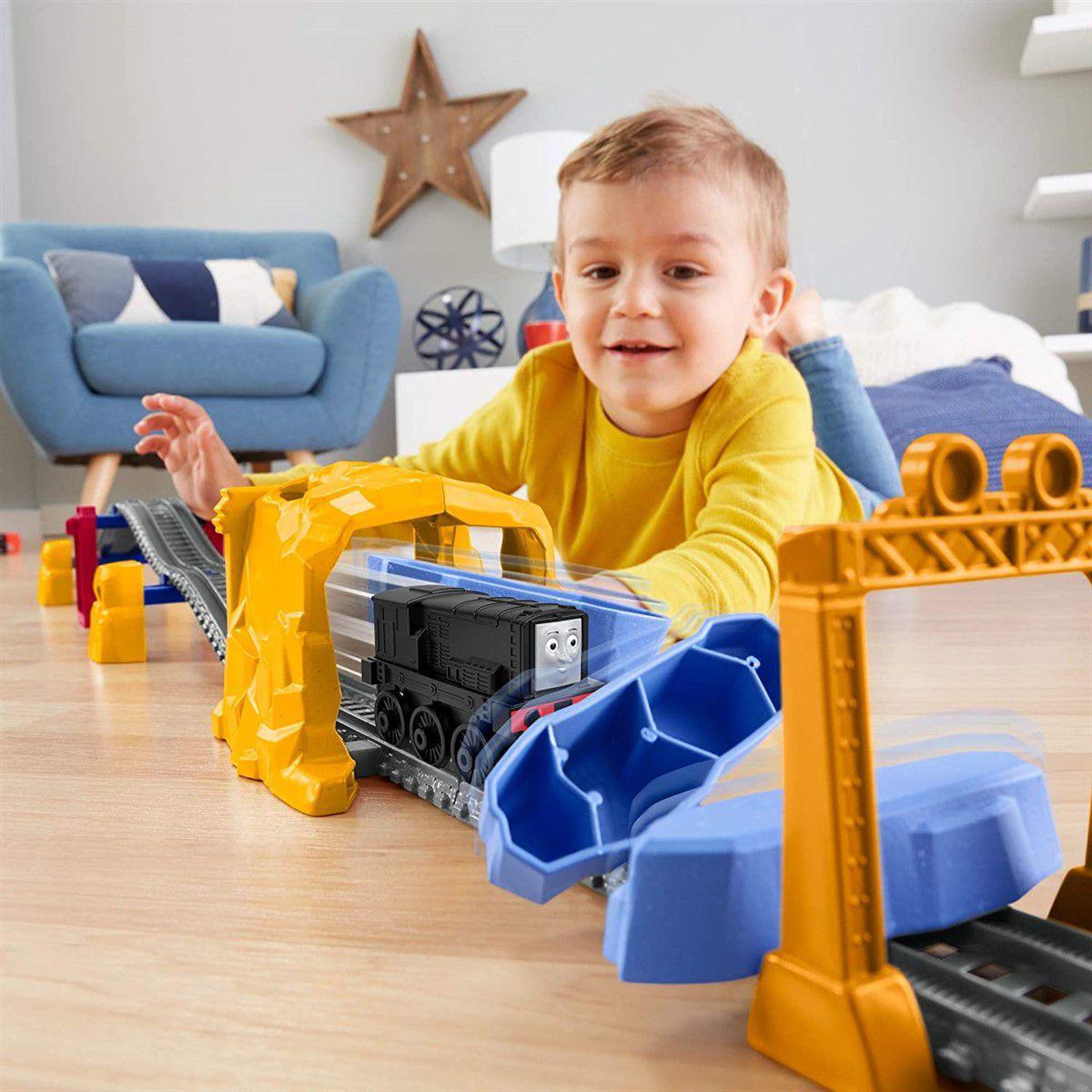 Pista e Veículo Thomas e Seus Amigos - Explosão de Túnel