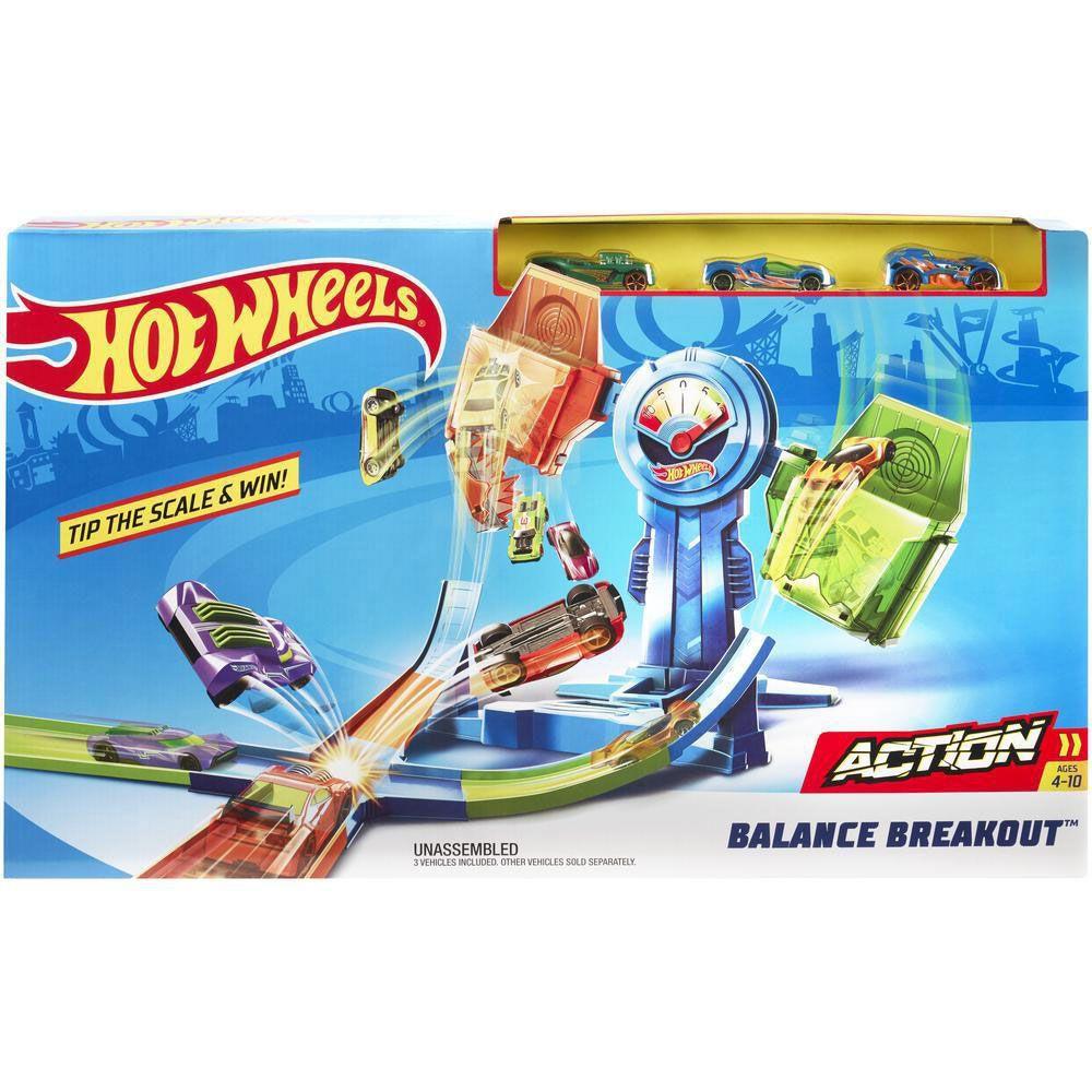 Pista Equilíbrio Extremo Hot Wheels