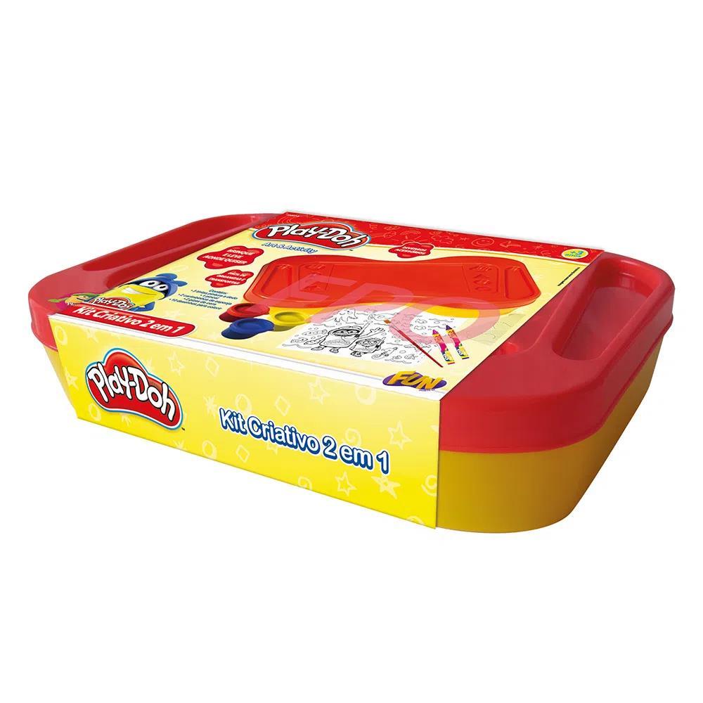 Play Doh Kit Criativo 2 Em 1