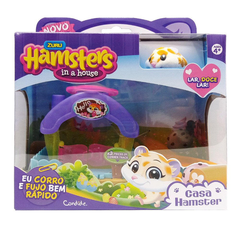 Playset Hamster In A House Casa Hamster Original Candide
