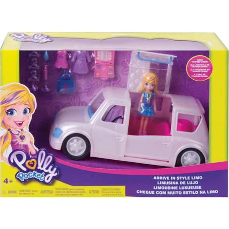 Polly Pocket Boneca e Veiculo Limousine