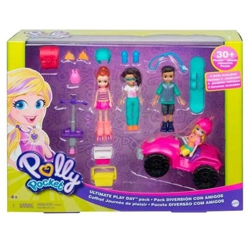 Polly Pocket Diversao com Amigos Mattel