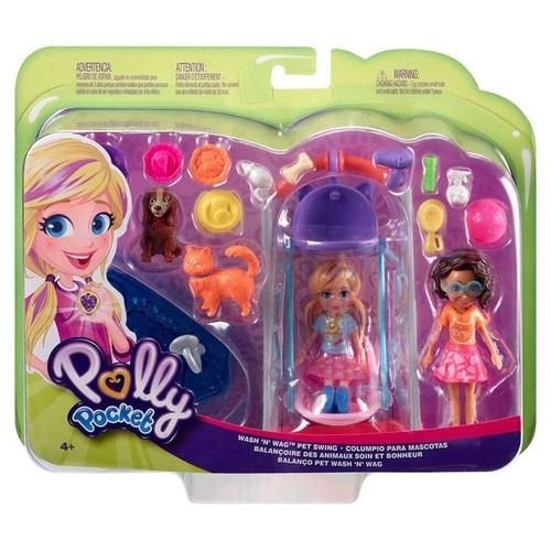 Polly Pocket - Polly Hora de Brincar - Mascotes - Mattel