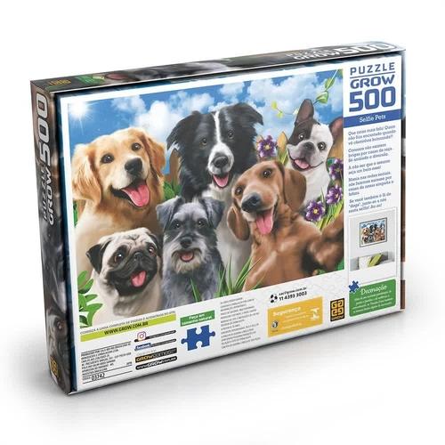 Puzzle 500 peças Selfie Pet