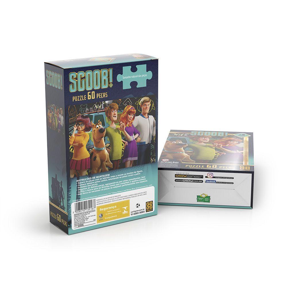 Puzzle 60 peças Scooby-doo